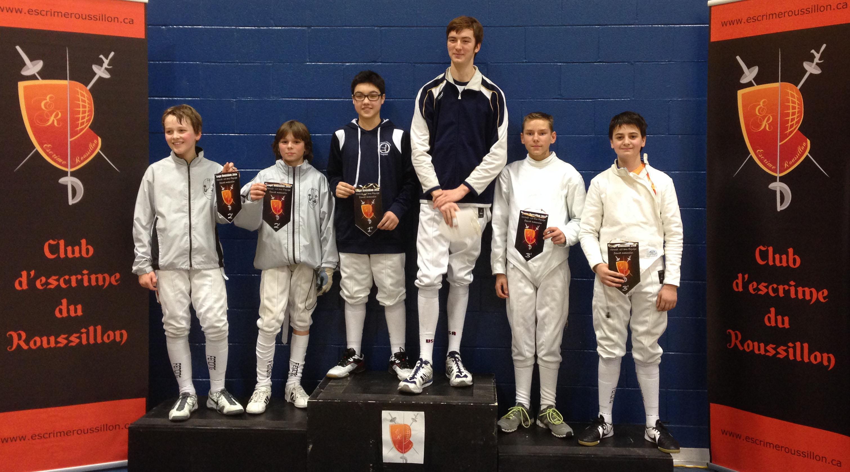 podium_Fleuret_équipe_-15_ans