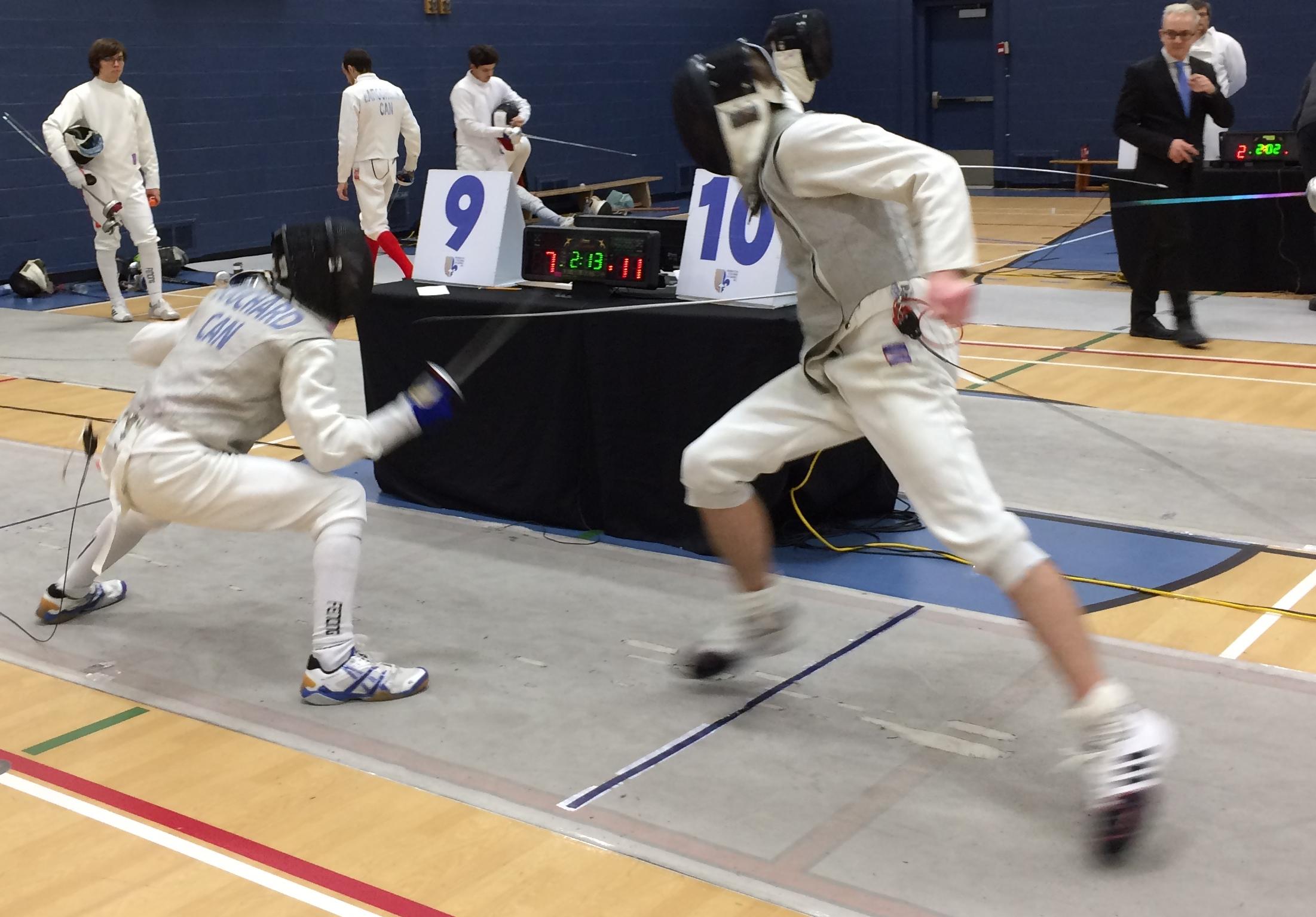 2017-01-21 Francis Bouchard et Julien Biet en combat