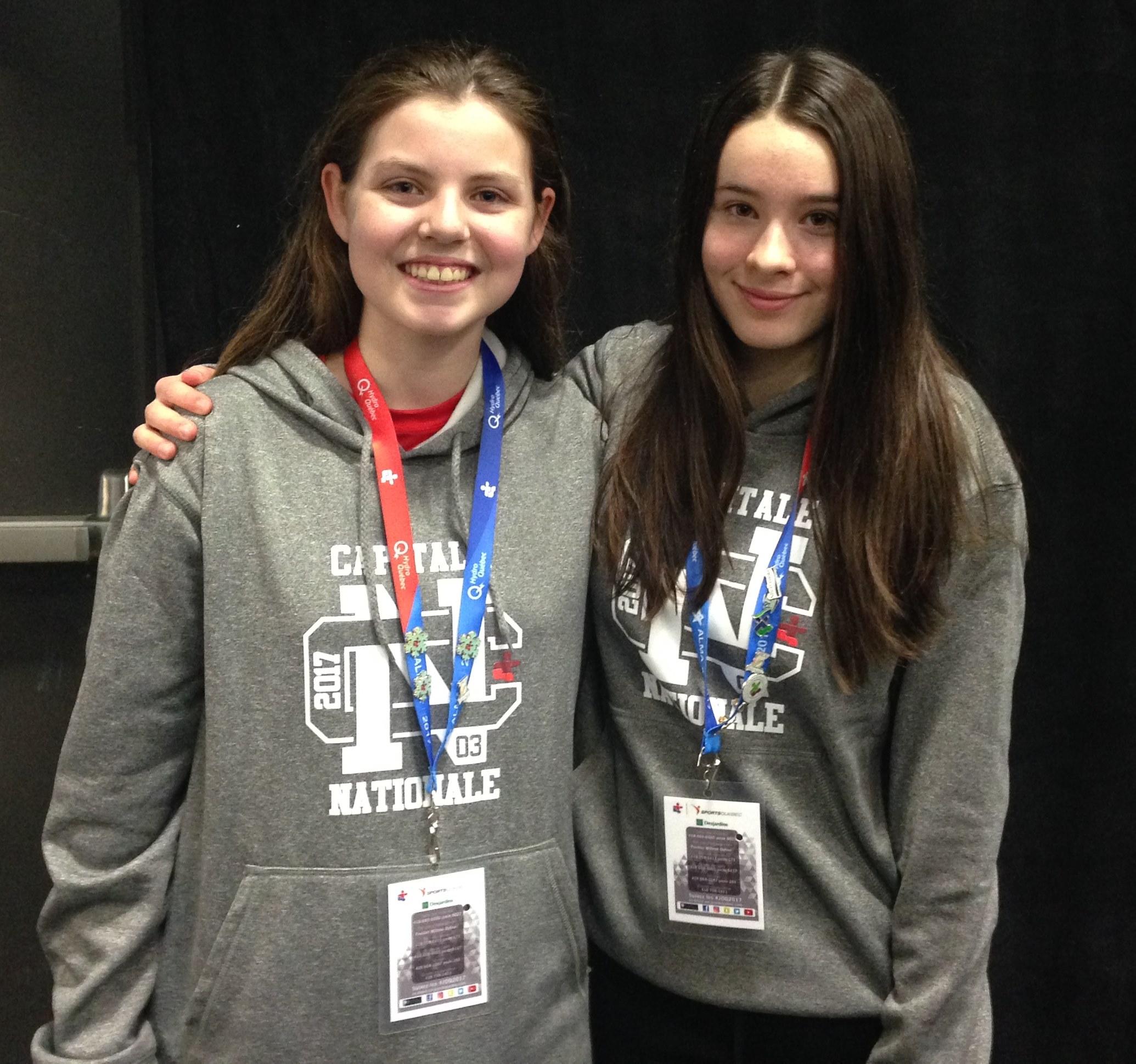 2017-02-26 Estelle Tremblay et Maryanne Bouchard
