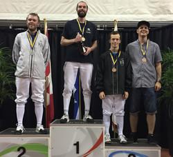 2017-09-24 podium Fleuret masc Sen div2 m