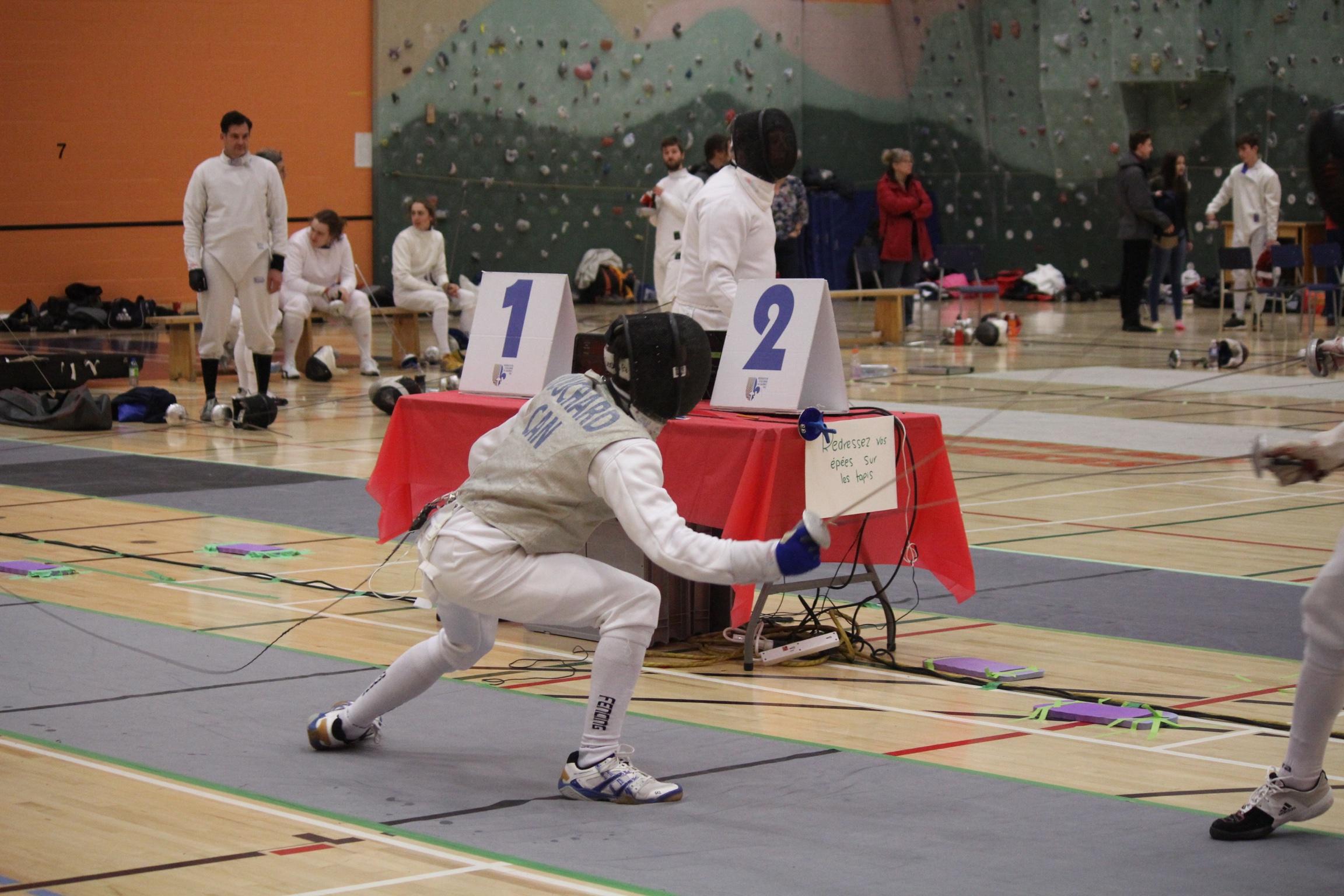 Francis vs Julien en finale 11