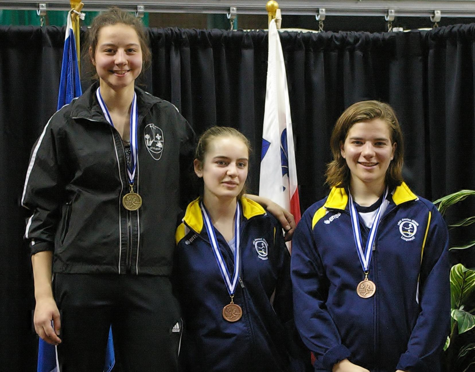 2016-05-14_podium_Fleuret_féminin_cadettes