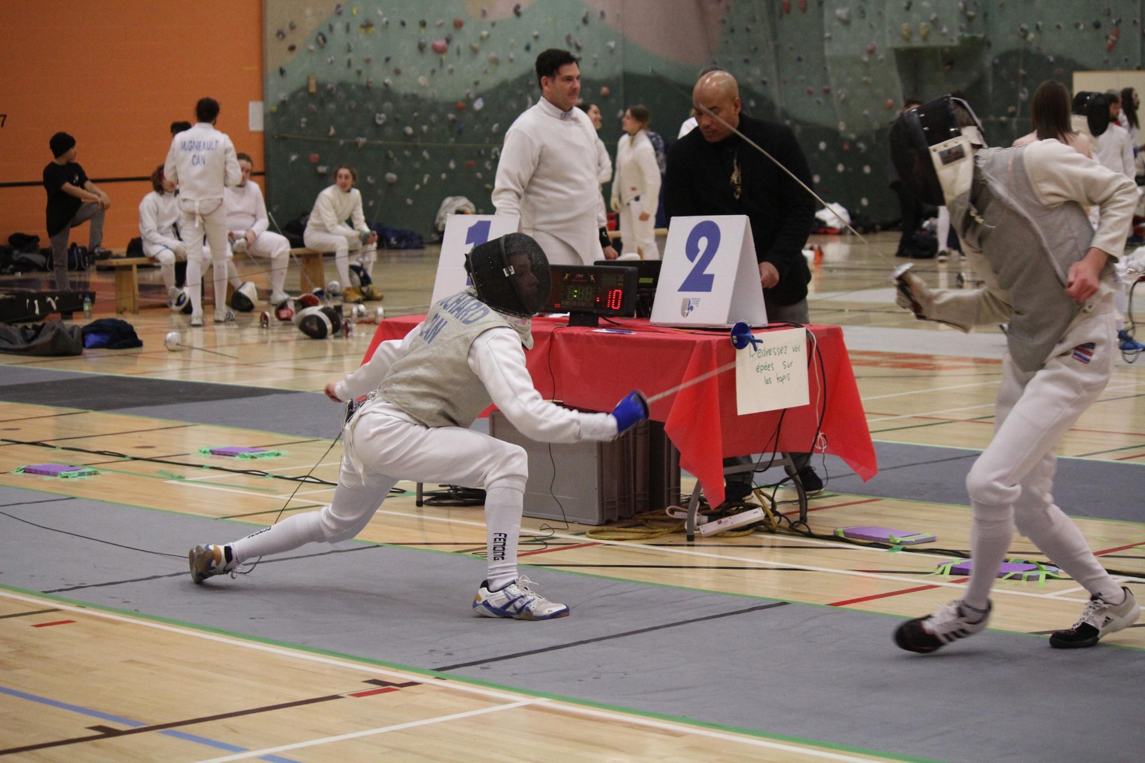 Francis vs Julien en finale 14