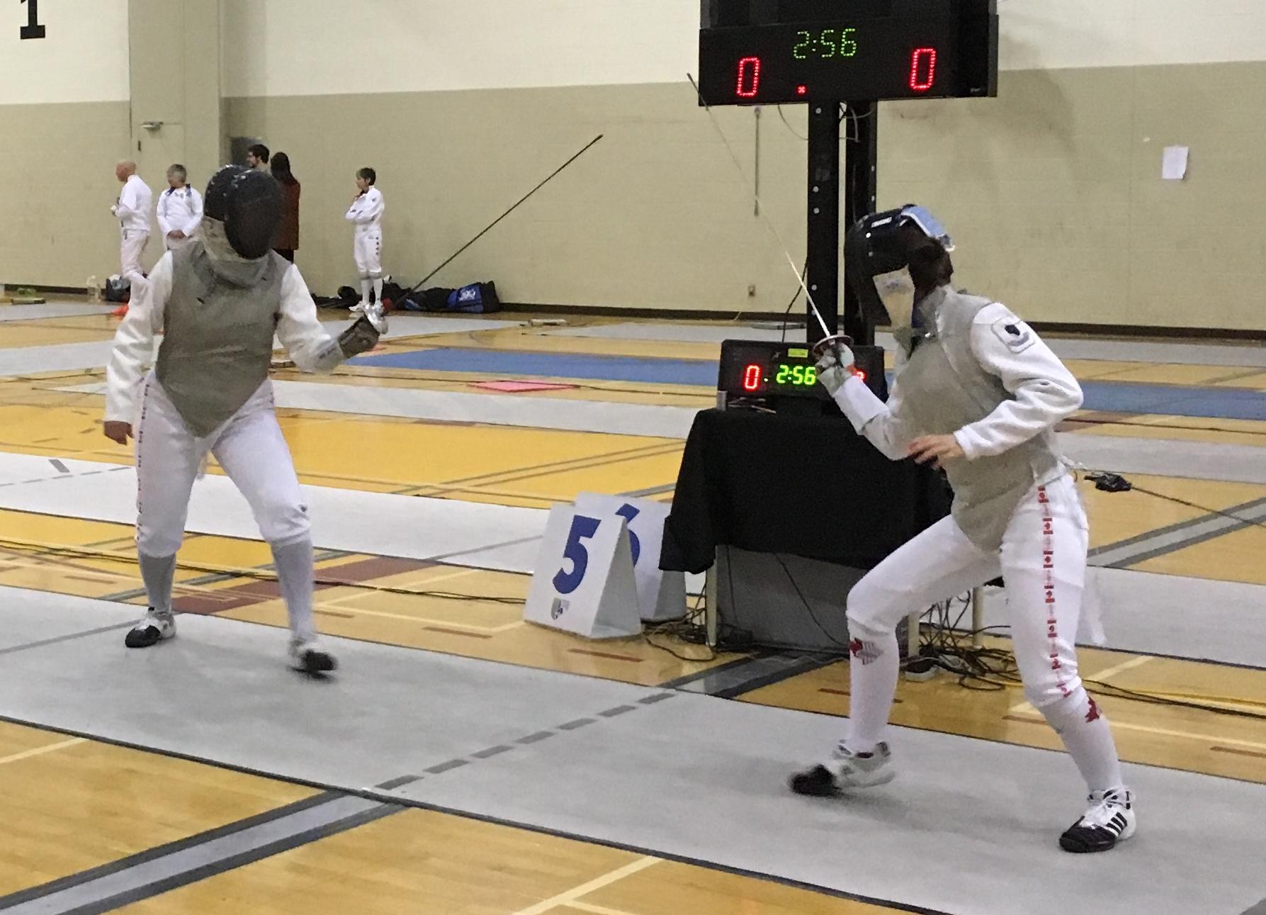 Combat finale Caron vs M. Bouchard