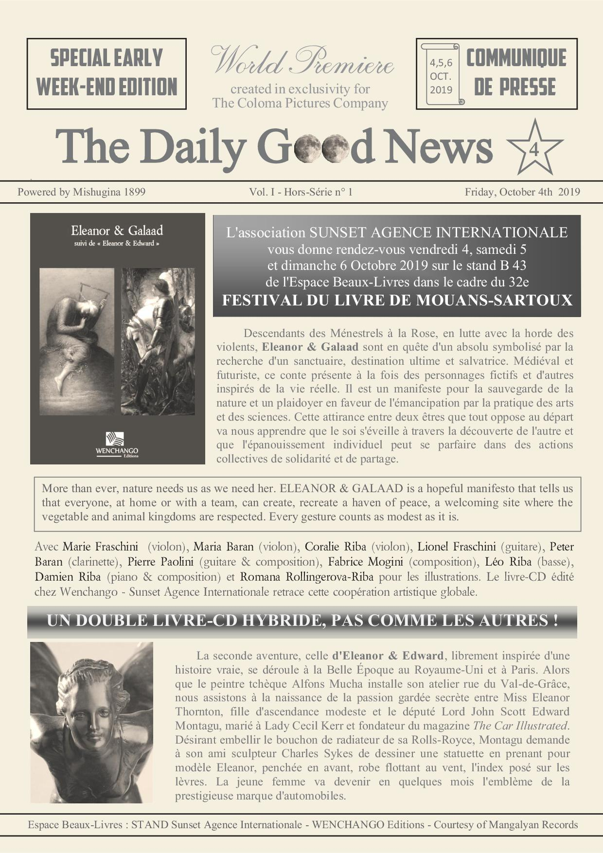 THE DAILY GOOD NEWS / 4
