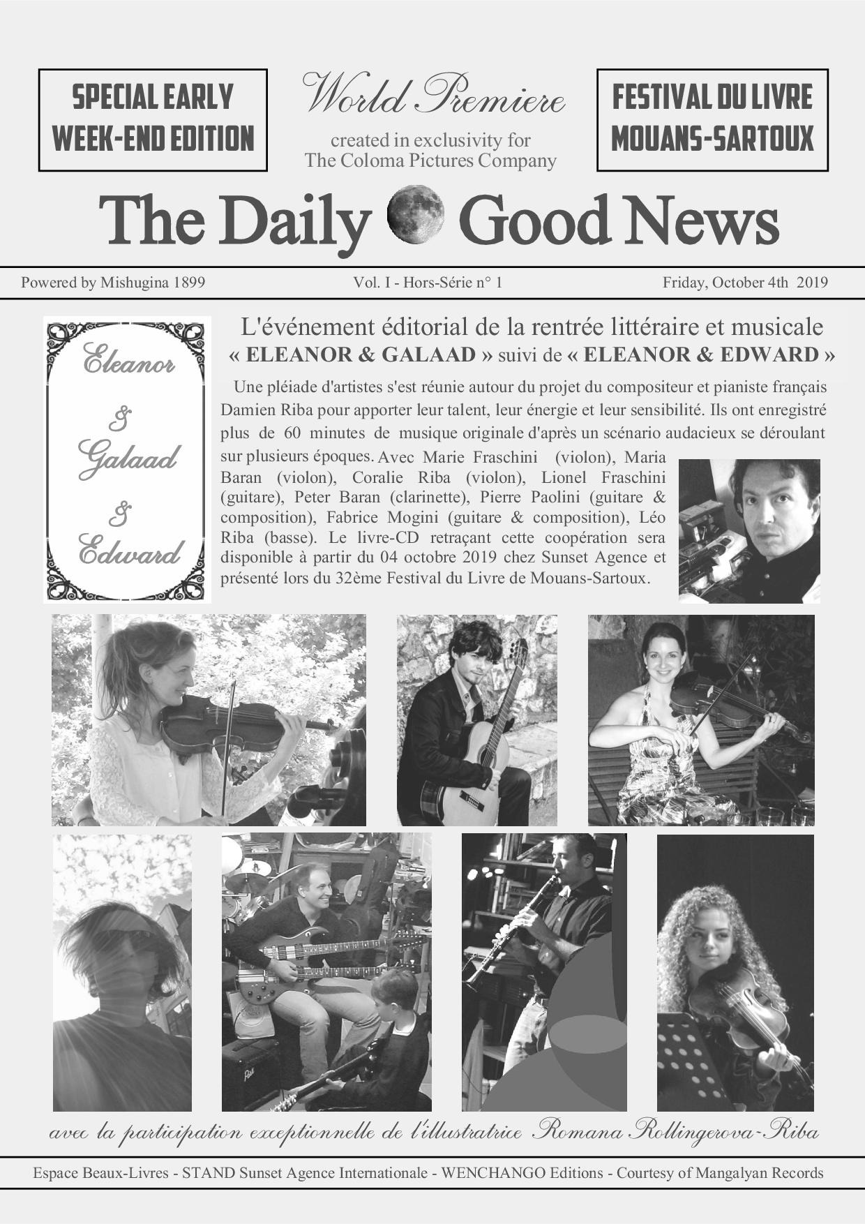 THE DAILY GOOD NEWS