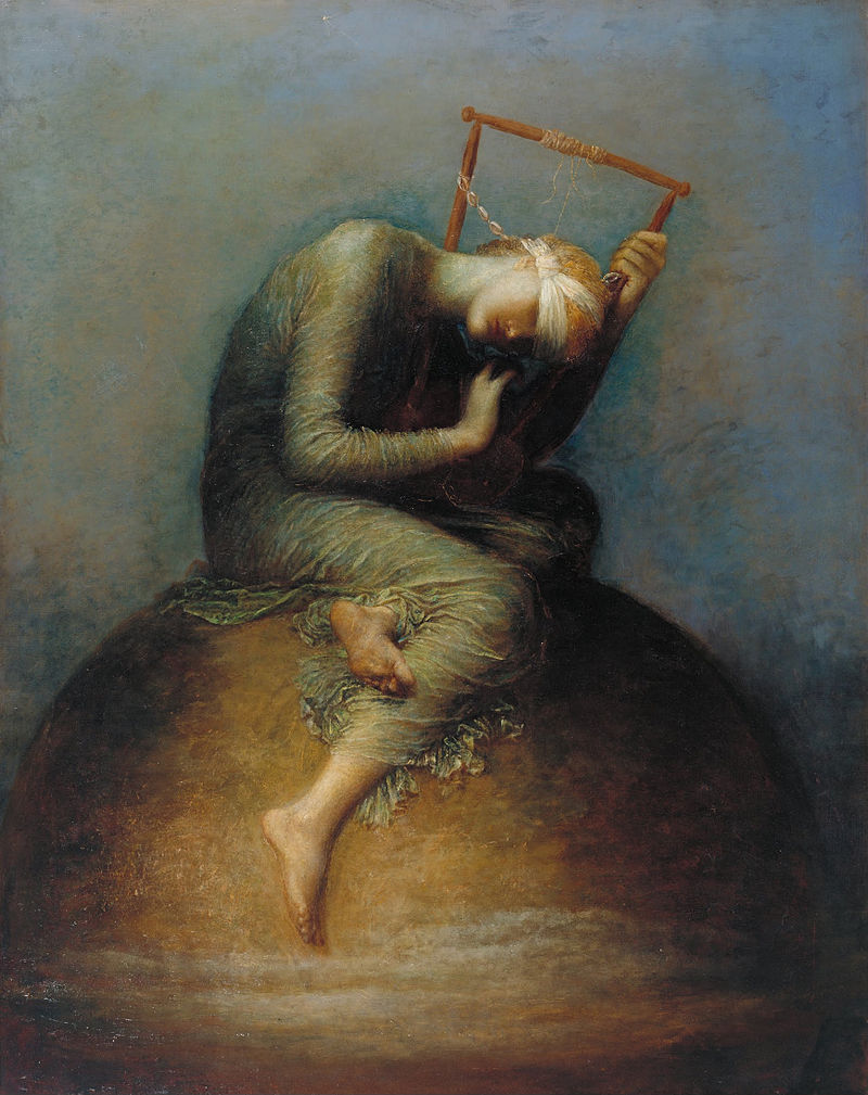 """Hope"" George Frederick Watts"