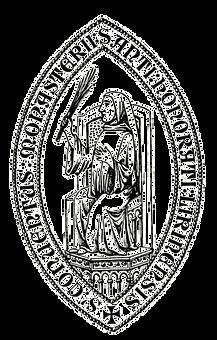 Sigillum de l'abbaye de Lérins, XIIIe s.
