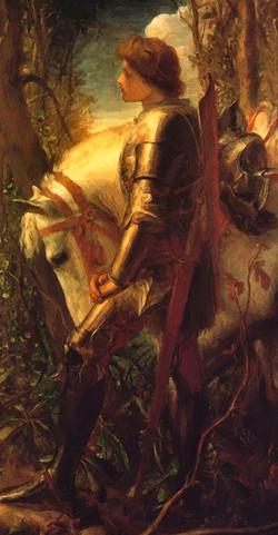 """Sir Galahad"" George Frederick Watts"