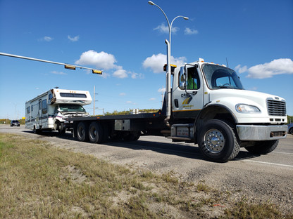 RV Towing in Parkland County