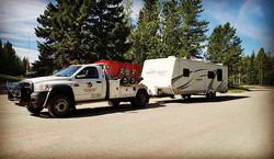Camper Towing