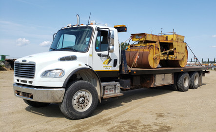 Equipment Hauling Acheson