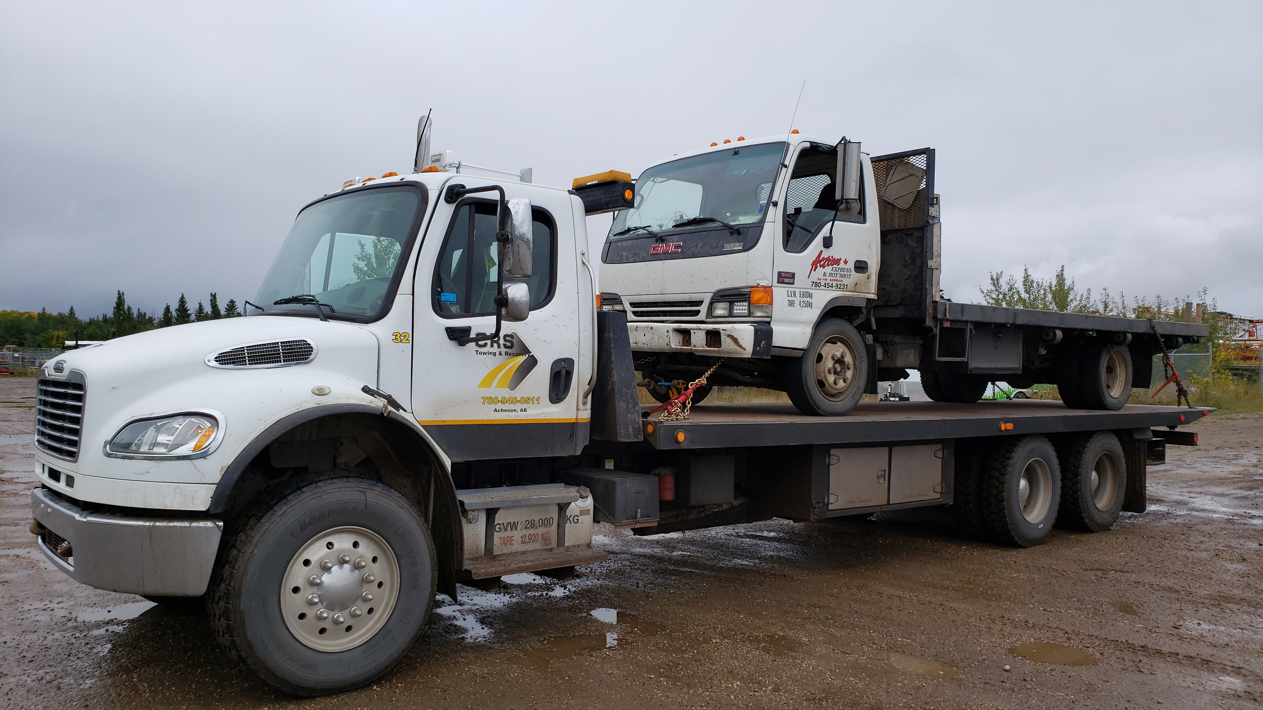 CRS Towing in Acheson