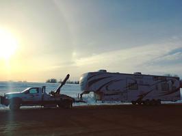 5th wheel trailer tow