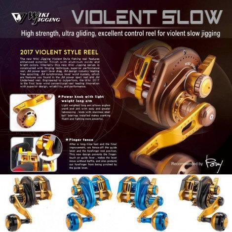 Wiki Violent Slow Jigging Reel