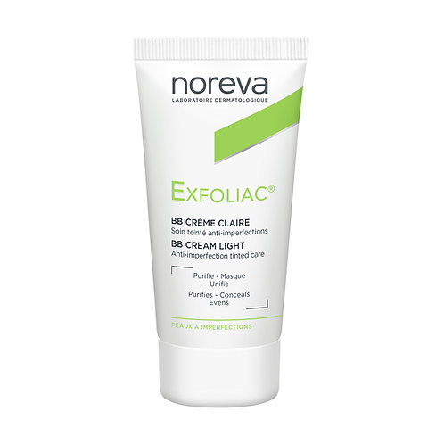 EXFOLIAC BB CREMA ANTI-IMPERFECCIONES COLOR CLARO 30ML
