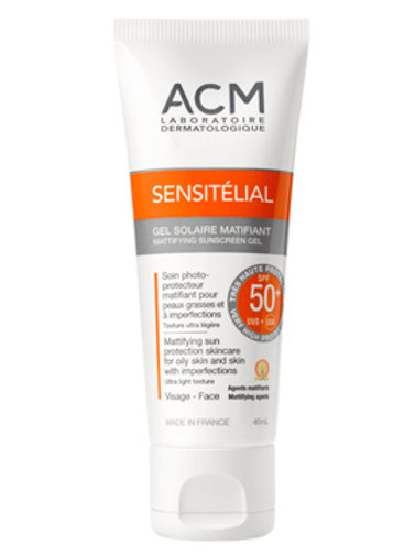 SENSITELIAL GEL MATIFICANTE SPF 50  40ml