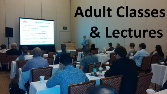 Schedule a class or lecture on brain science for adult professionals