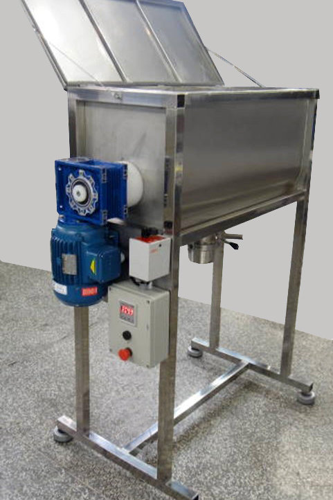 RIBBON BLENDER HORIZONTAL - 160 litros