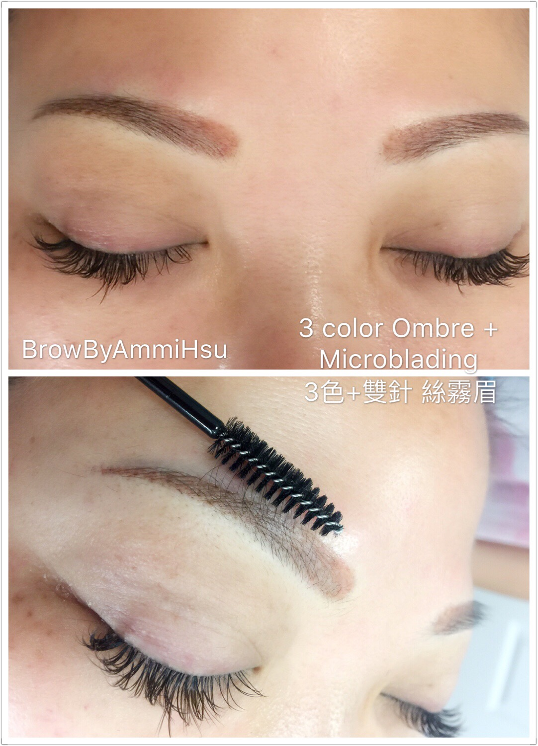 Shadow + 3D microblading