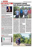 Article du journal de Millau