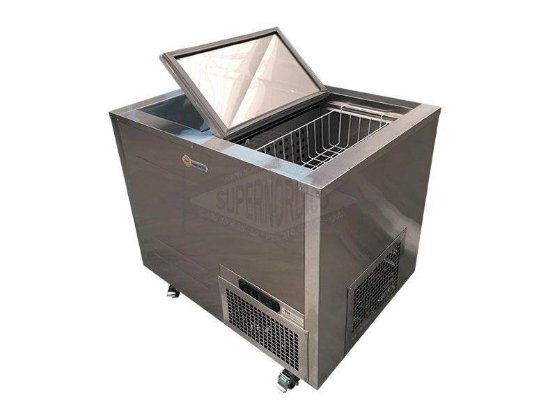 Congelador Total Acero Antiácido