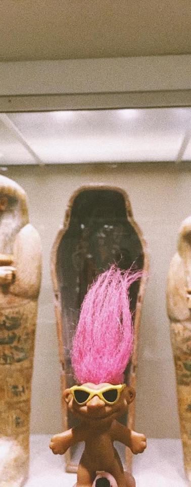 Egyptian Troll in the Met