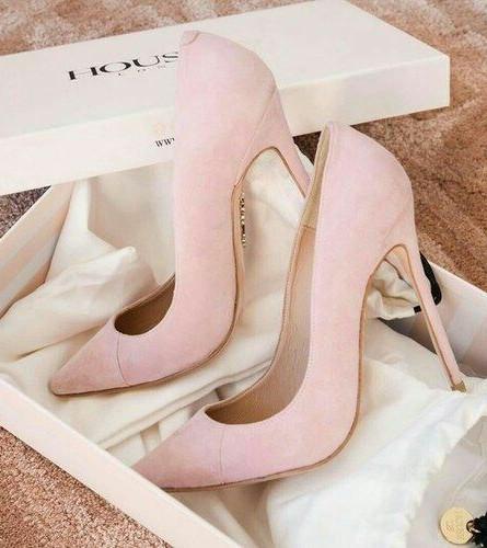 Inspiração Pinterest - Sapato Rosa
