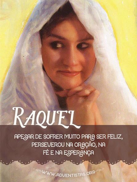Raquel, mulher encantadora