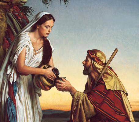 Rebeca, mulher dedicada e generosa
