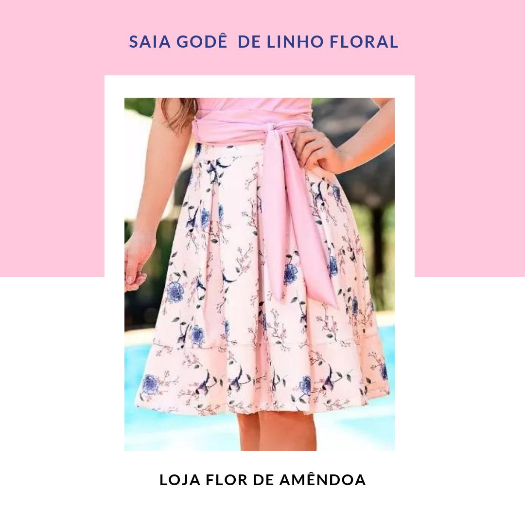 7511d7bc9 Lançamento de saias - Loja Flor de amêndoa