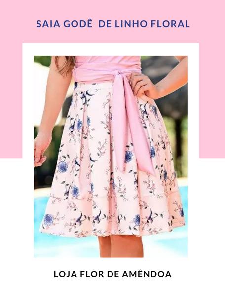 Lançamento de saias - Loja Flor de amêndoa