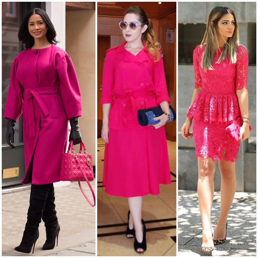 Tendência Vermelho e rosa