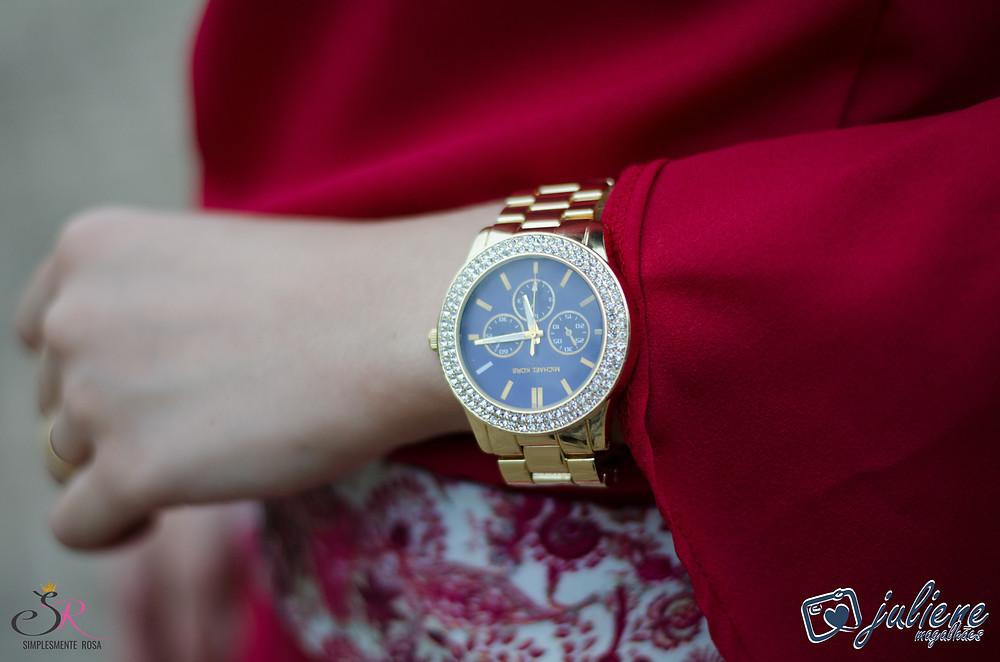 Relógio-dourado