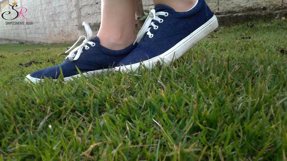 tênis-jeans