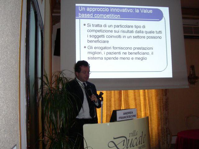 professor Andrea FRancesconi