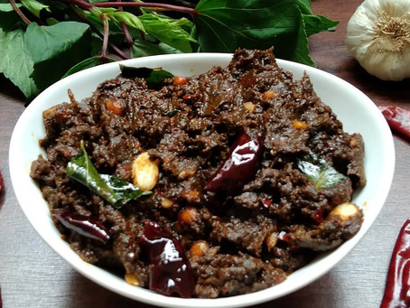 An Andhra delicacy made with sorrel leaves