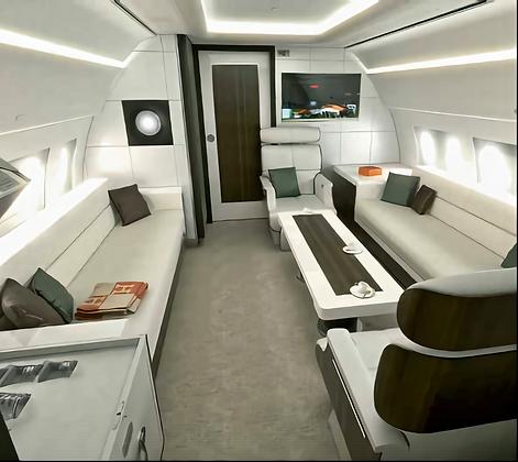 Interior - Private Jet