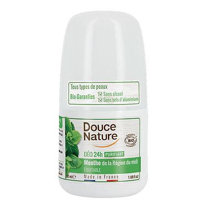 DOUCE NATURE DEODORANT 24H PURIFIANT MENTHE POIVREE 50ML