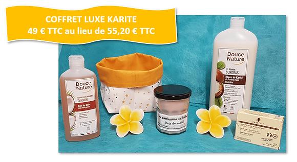 COFFRET PRESTIGE KARITE - COCO