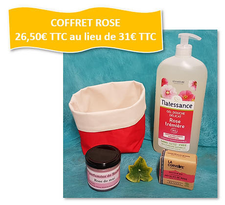 COFFRET AUTOUR DE LA ROSE