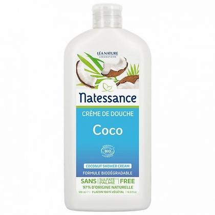 CREME DE DOUCHE COCO BIO NATESSANCE 500ML