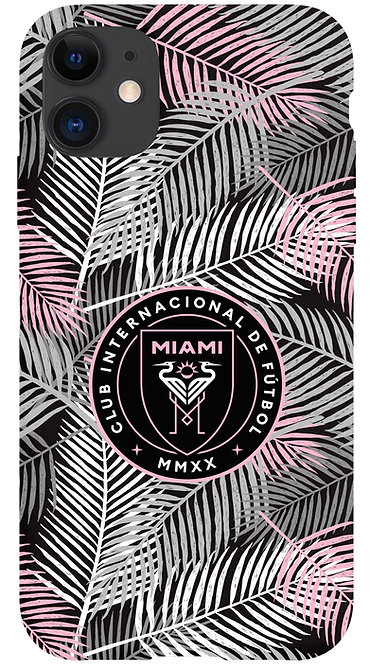 Inter Miami CF Crest - Palm Trees