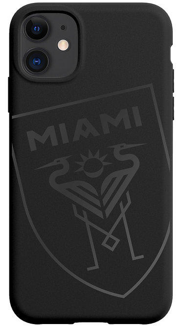 Inter Miami Shield - Black on Black