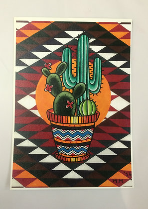 Cactus Print - A4