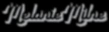 Melanie Milne Tattoos Sydney Logo