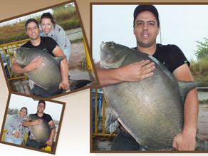 Mais uma super Pescaria no Pesk Pag dos Amigos