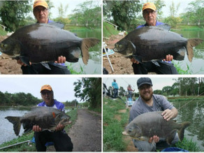 Equipe Fishingtur no Pesqueiro Monte Negro