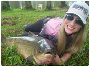 Pescaria e Acampamento em Família, o sonho de qualquer pescador.