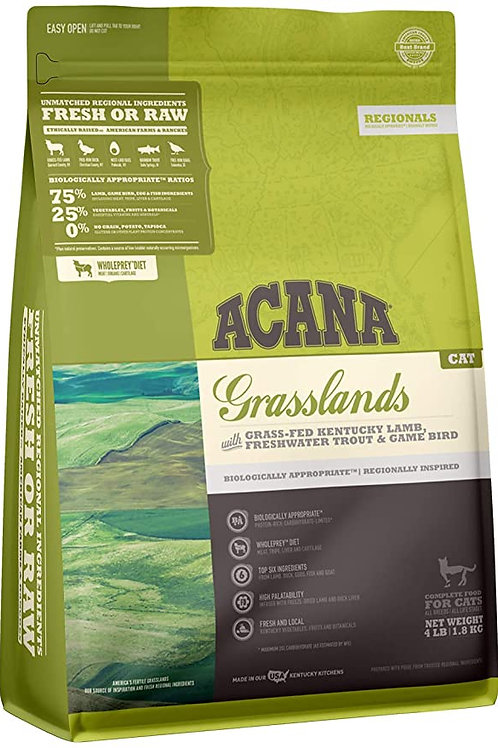 Acana Grasslands Cat Food 340g